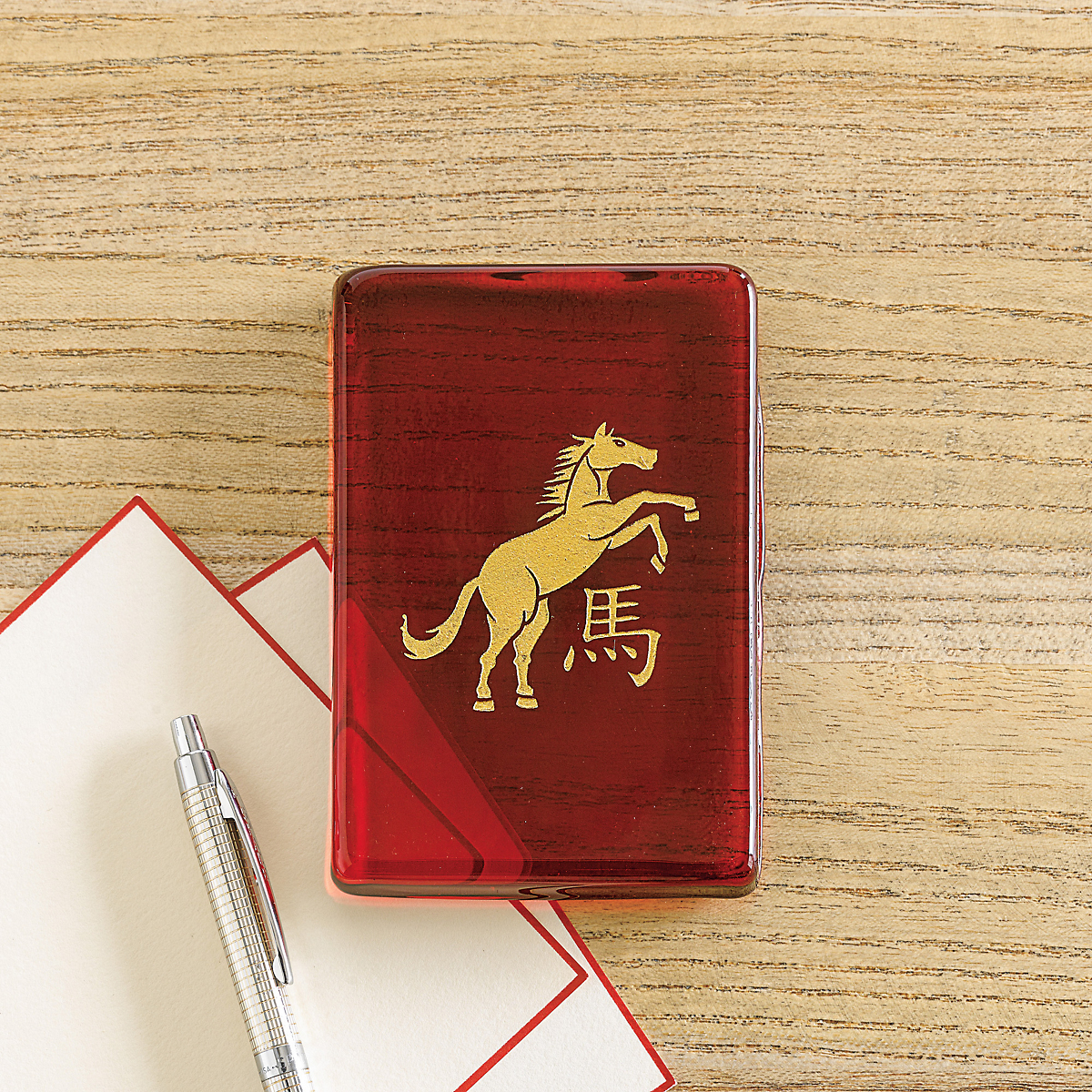 Year Of The Horse Paperweight Gump S