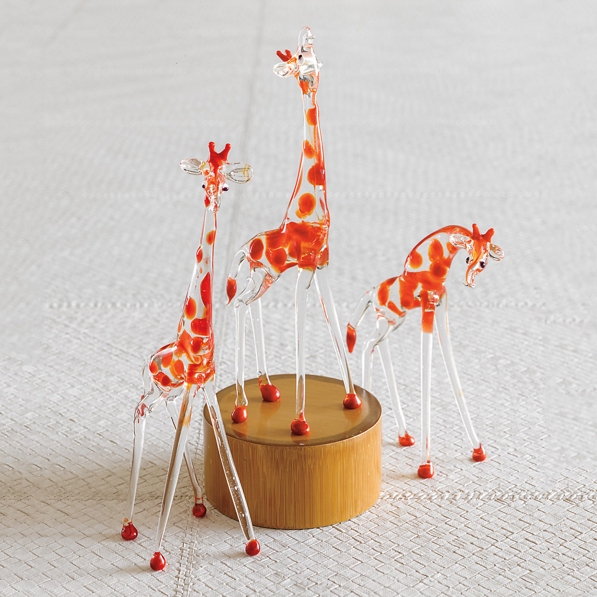 Murano Glass Giraffes
