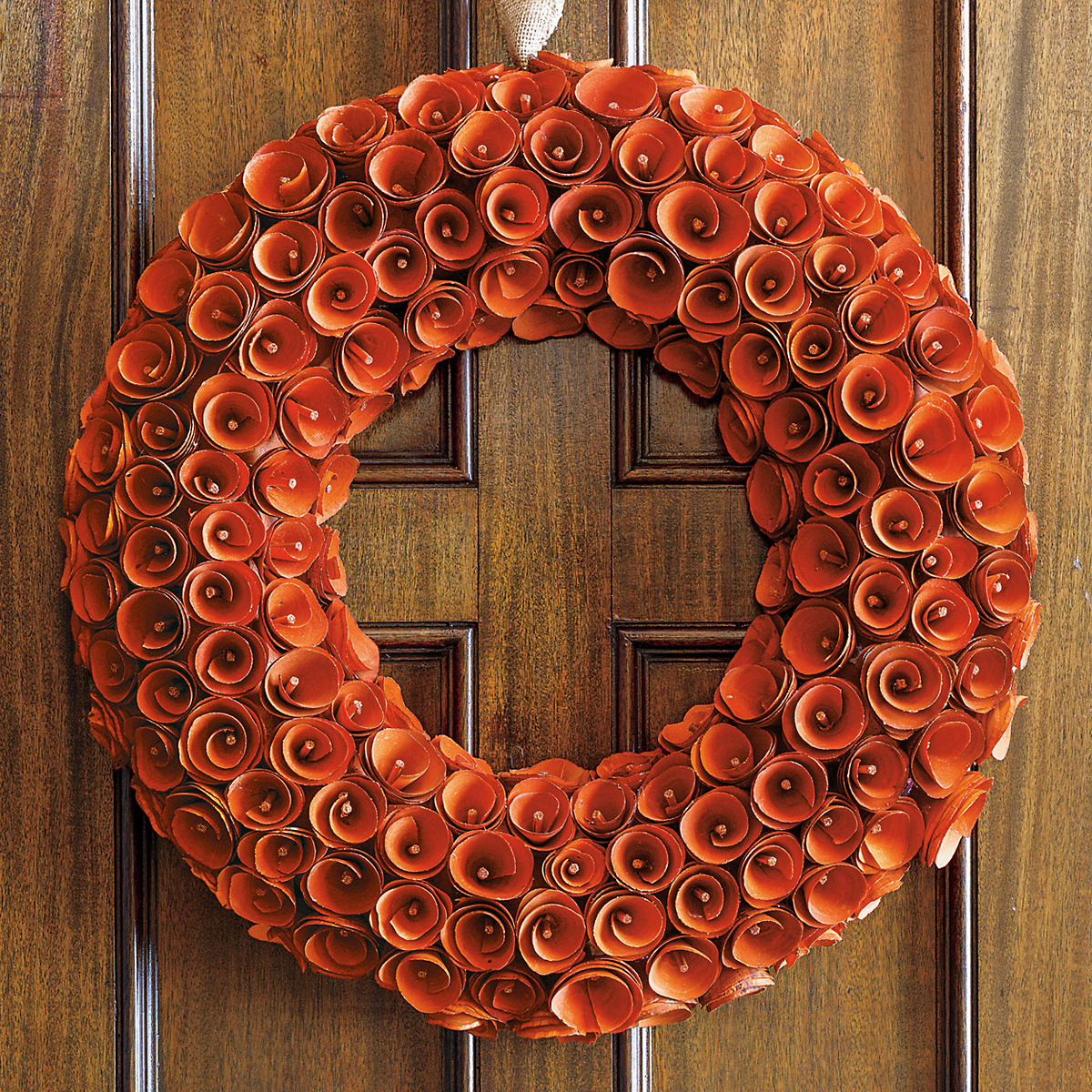 Persimmon Wood Wreath