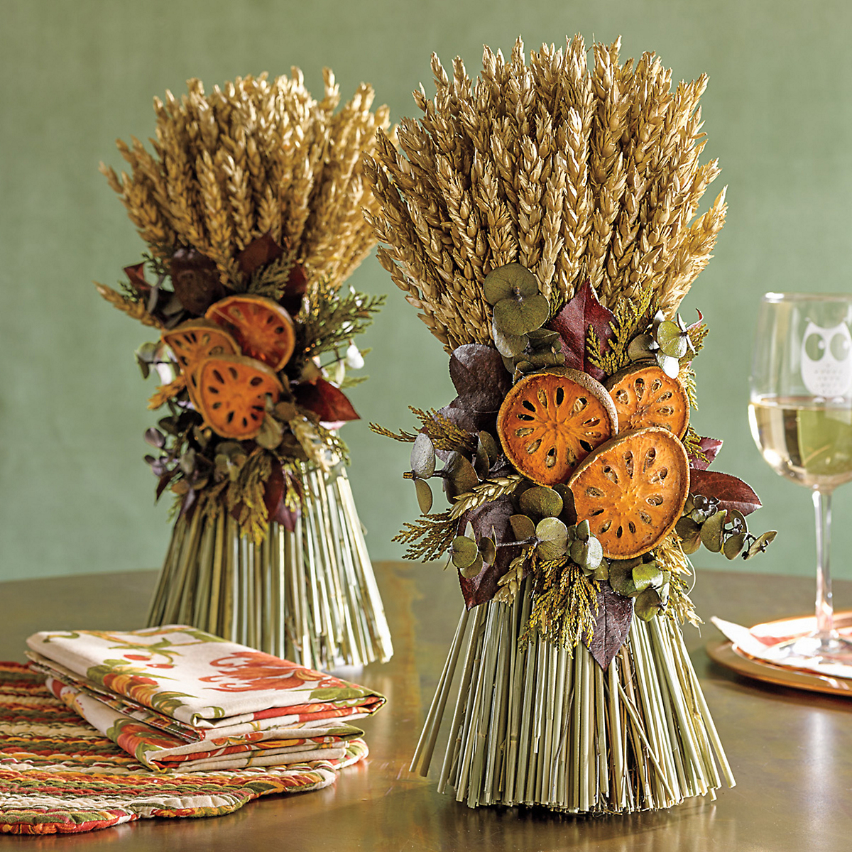 Harvest Bundles, Set Of 2