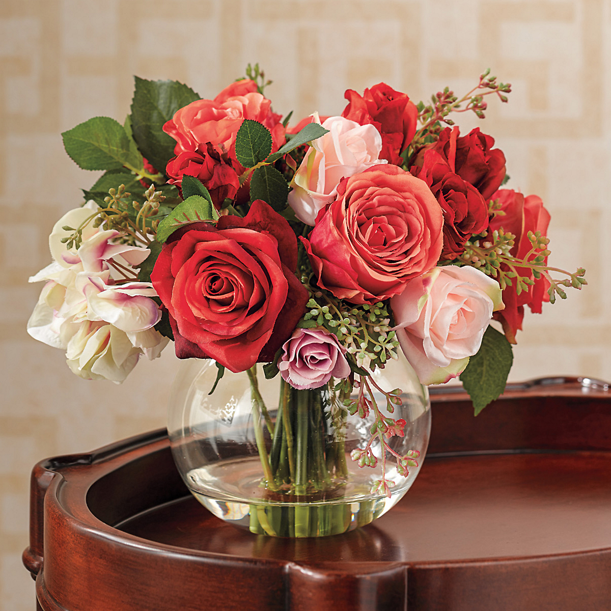 Autumn Roses Arrangement