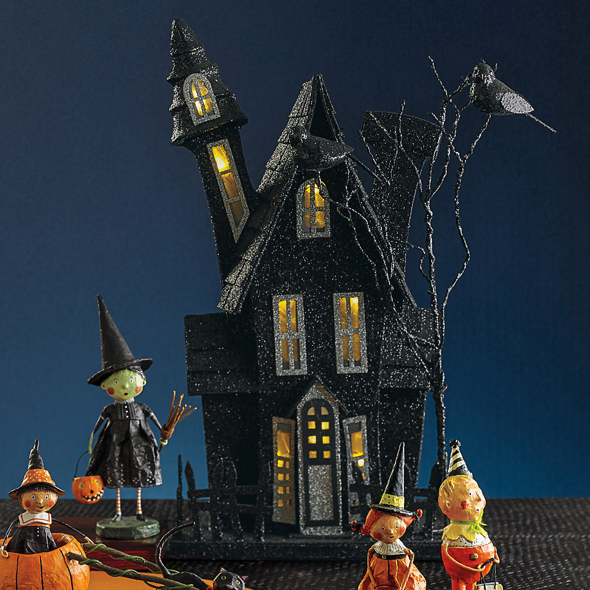 Light-Up Haunted House