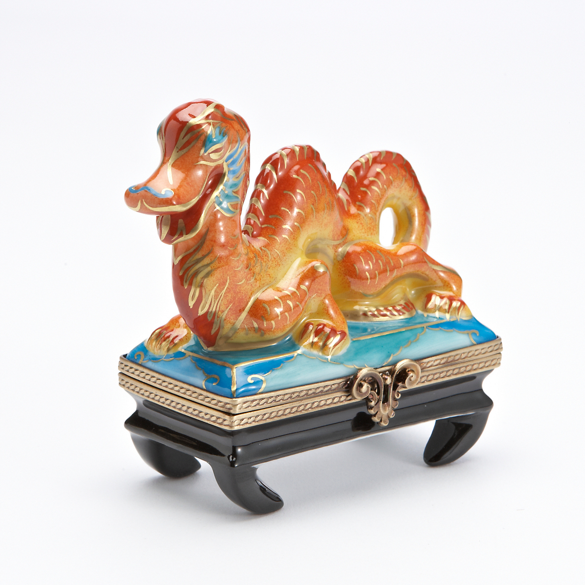 Limoges Dragon On Cloud