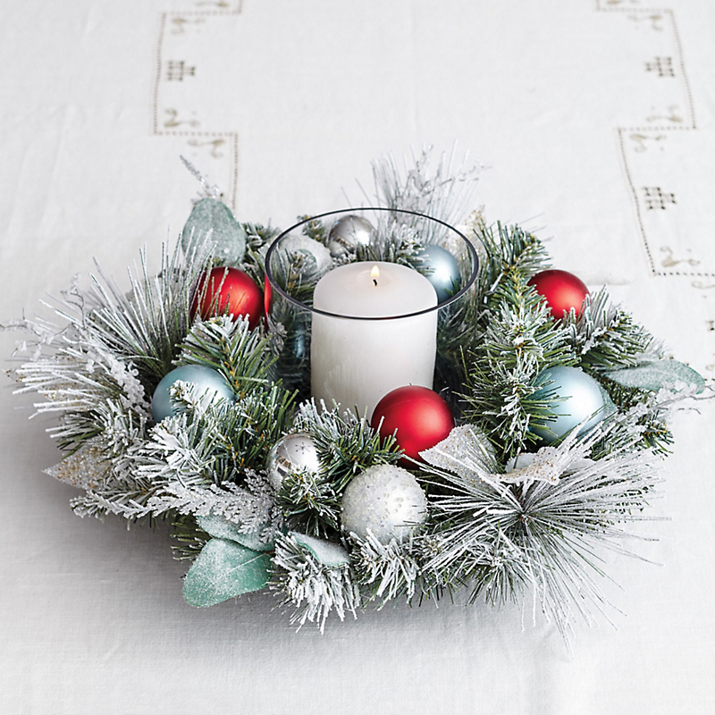 Winter Wonderland Christmas Centerpiece