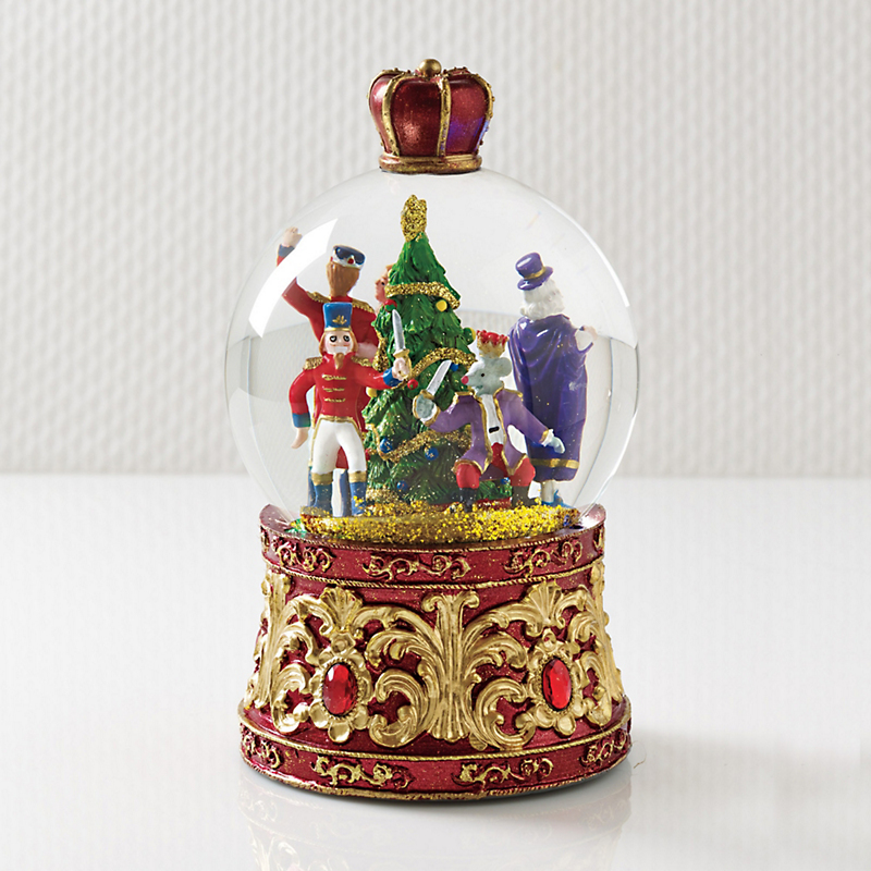 Musical Nutcracker Water Globe