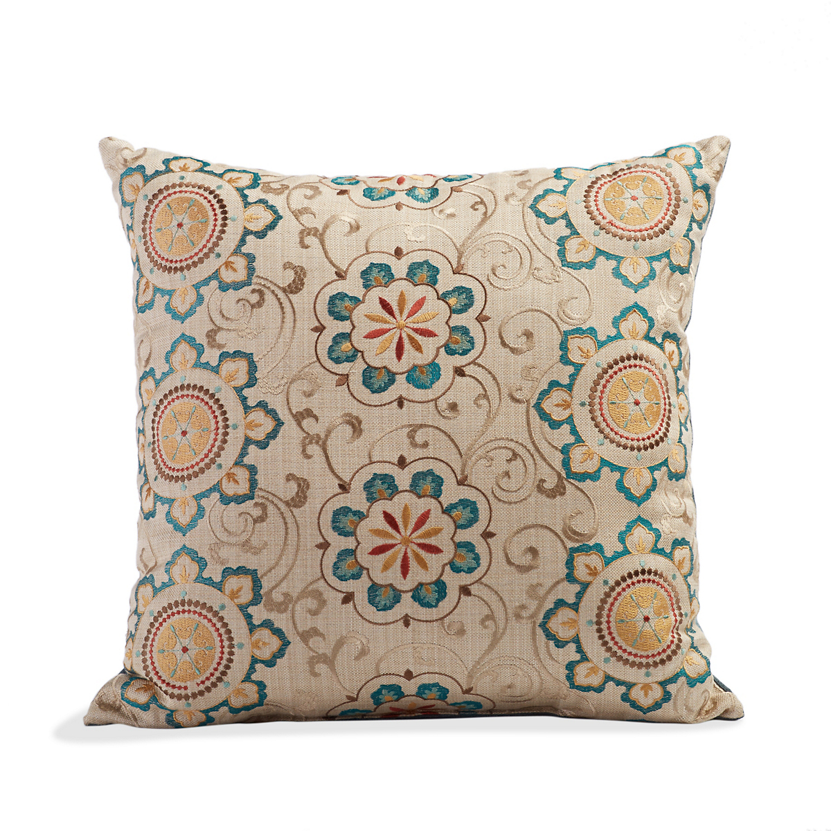 Mirabella Floral Medallion Pillow