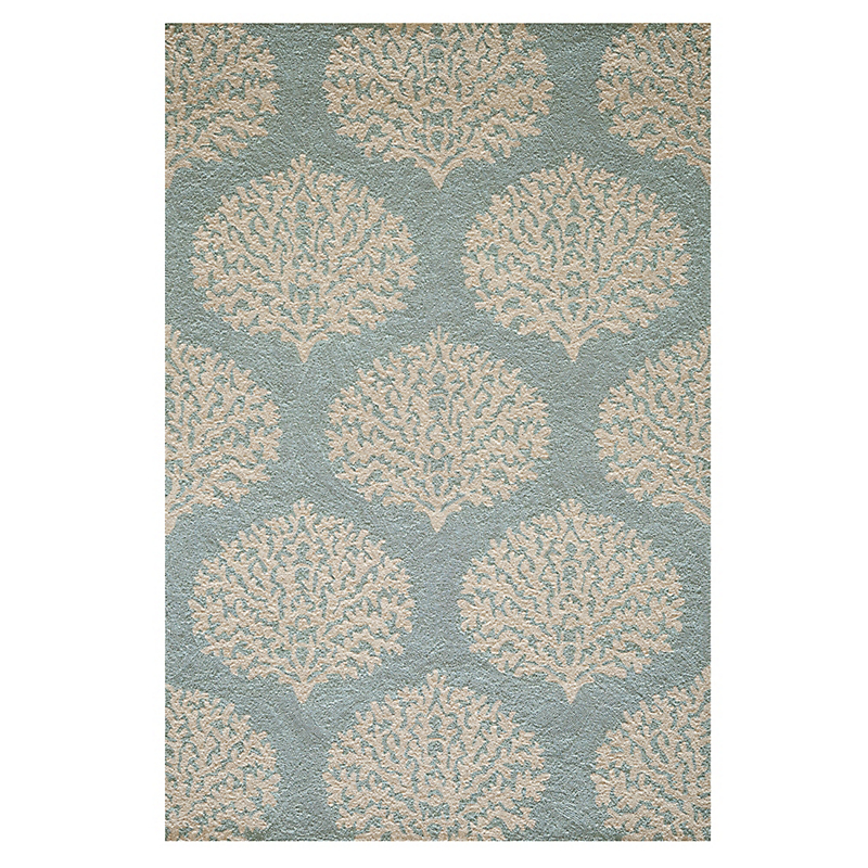 Blue Coral Indoor / Outdoor Rug