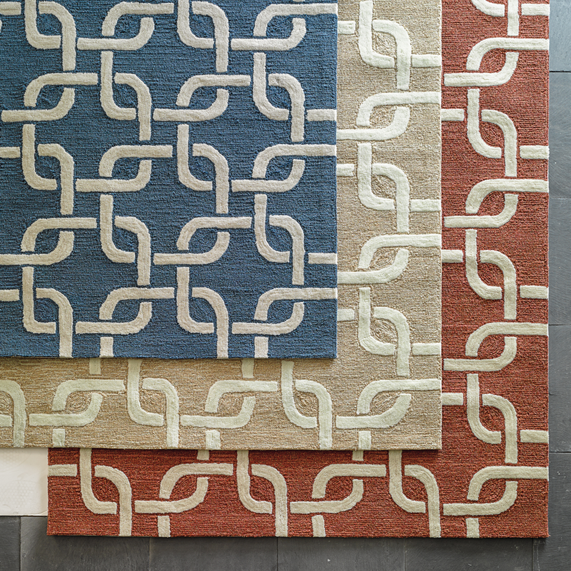 Chain Link Indoor / Outdoor Rug