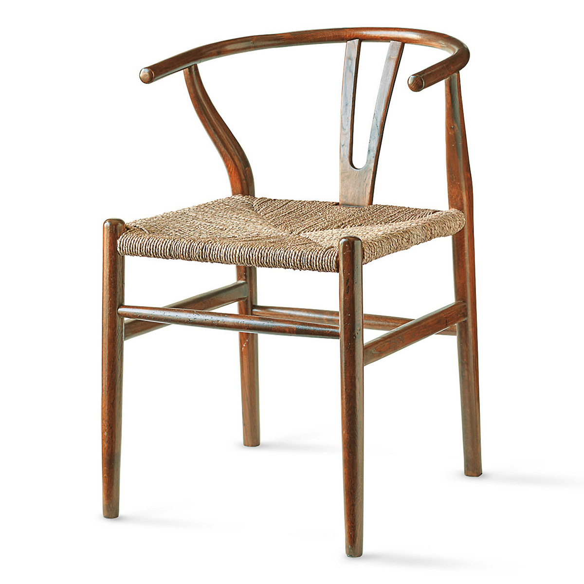 Horseshoe Chair, Brown