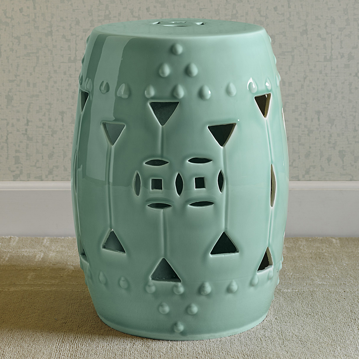 Tranquility Garden Stool