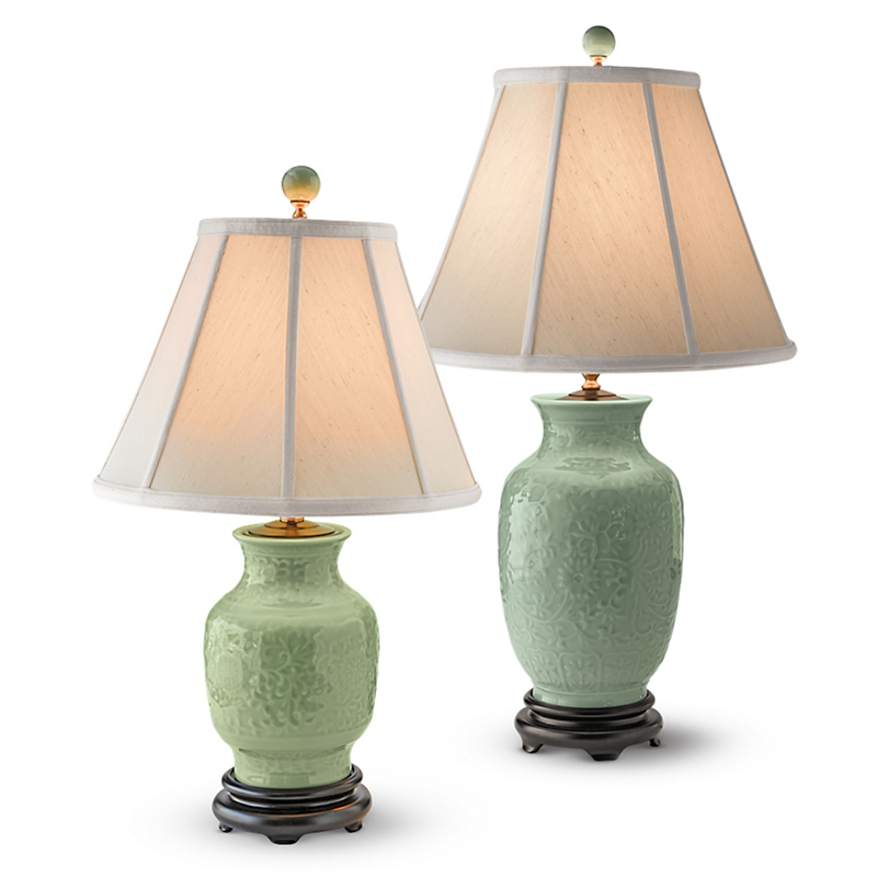 Floral Dynasty Lamps