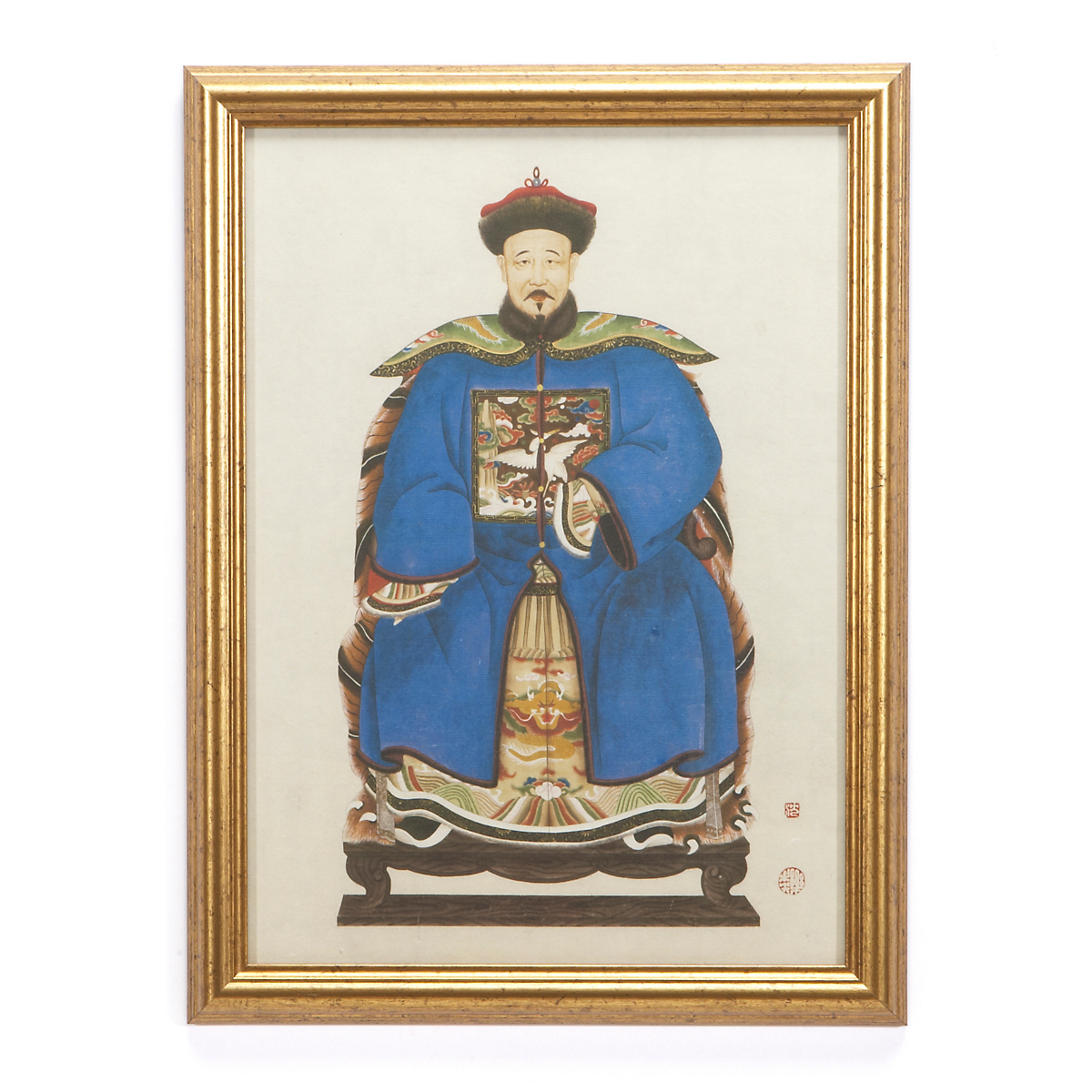 Qing dynasty royalty print emperor gump 39 s for House of dynasty order online