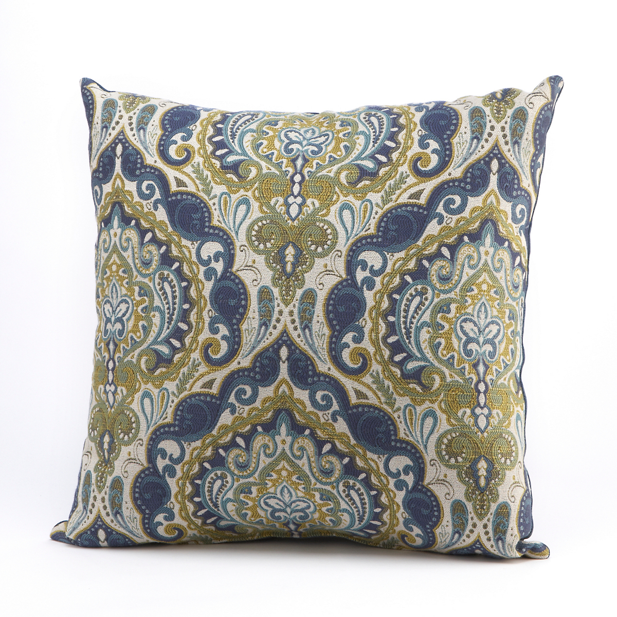 Market Medallion Square Pillow