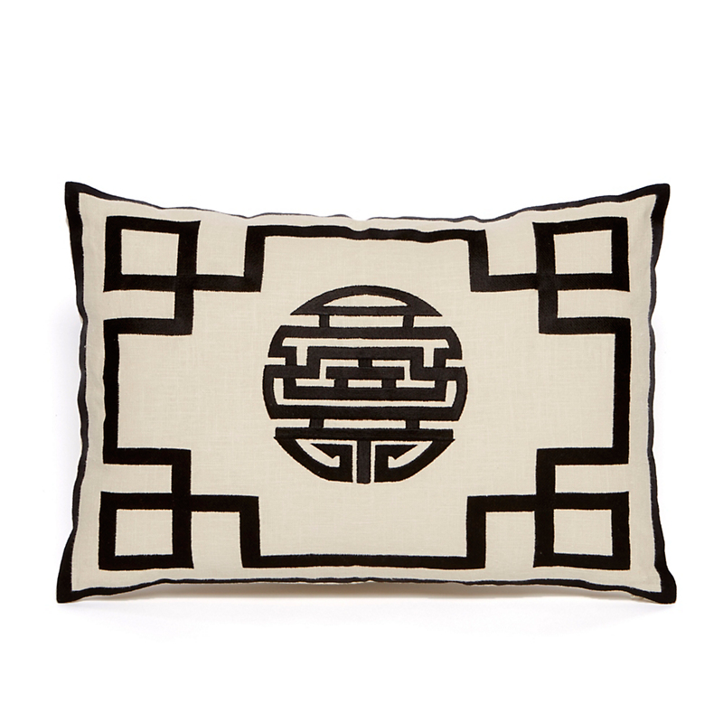 Shou Pillow, Gold
