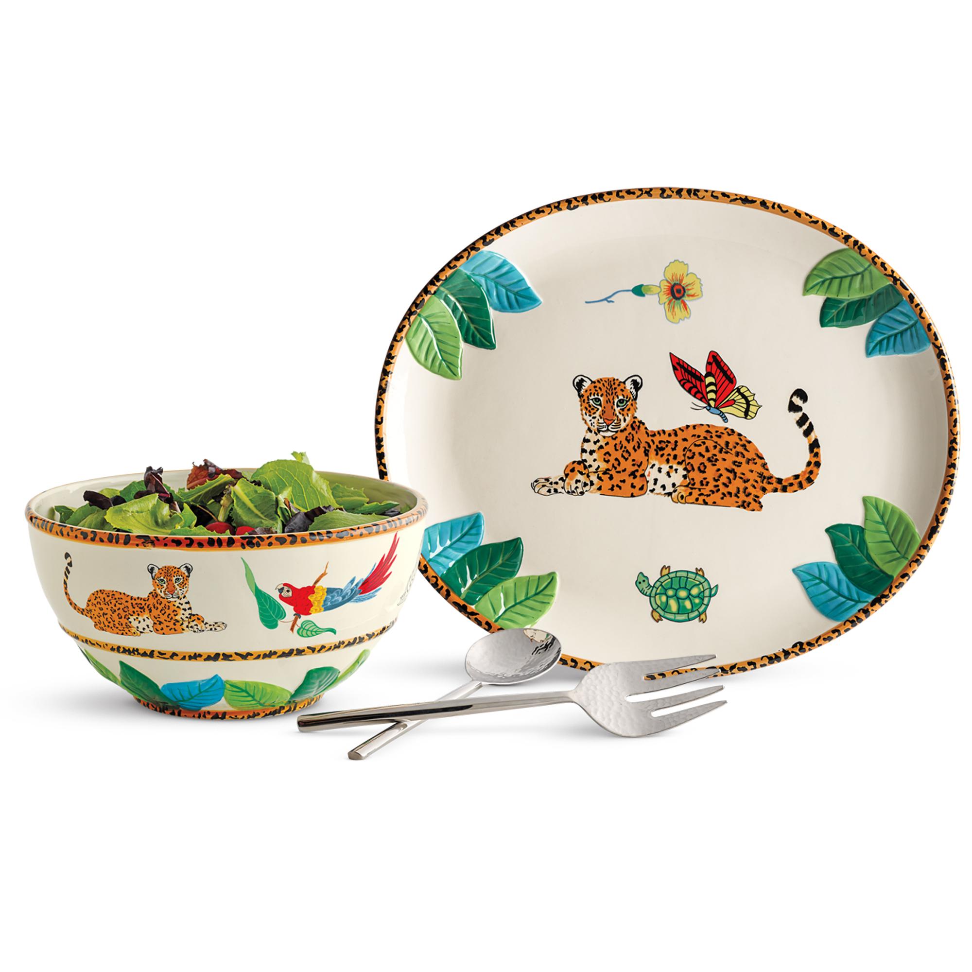 sc 1 st  Gumpu0027s & Lynn Chase Jungle Jubilee Dinnerware | Gumpu0027s