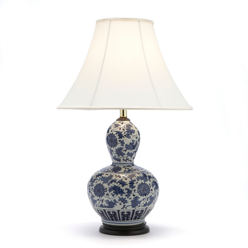 Lotus Double Gourd Lamp