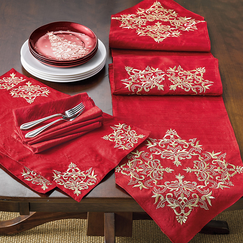St. Lucia Table Linens