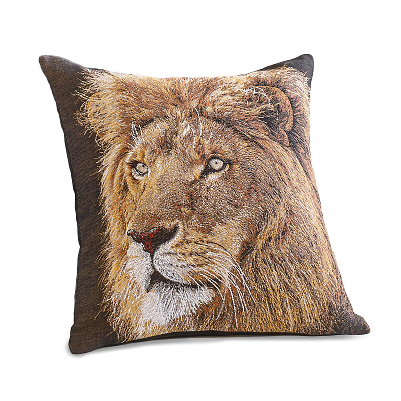 Tanzania Lion Pillow