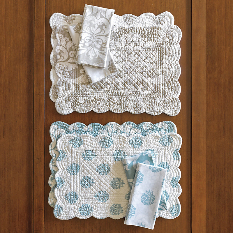 Marseilles Reversible Napkins, Set of 4