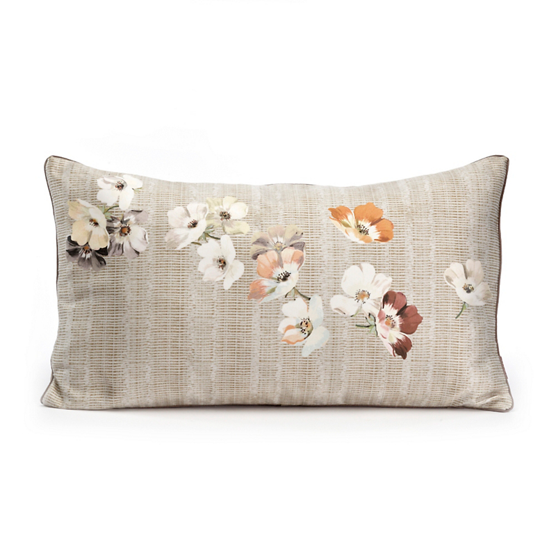 Scattered Flowers Pillow