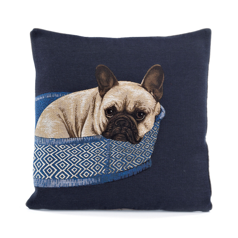 Chic Chien Dog Pillow