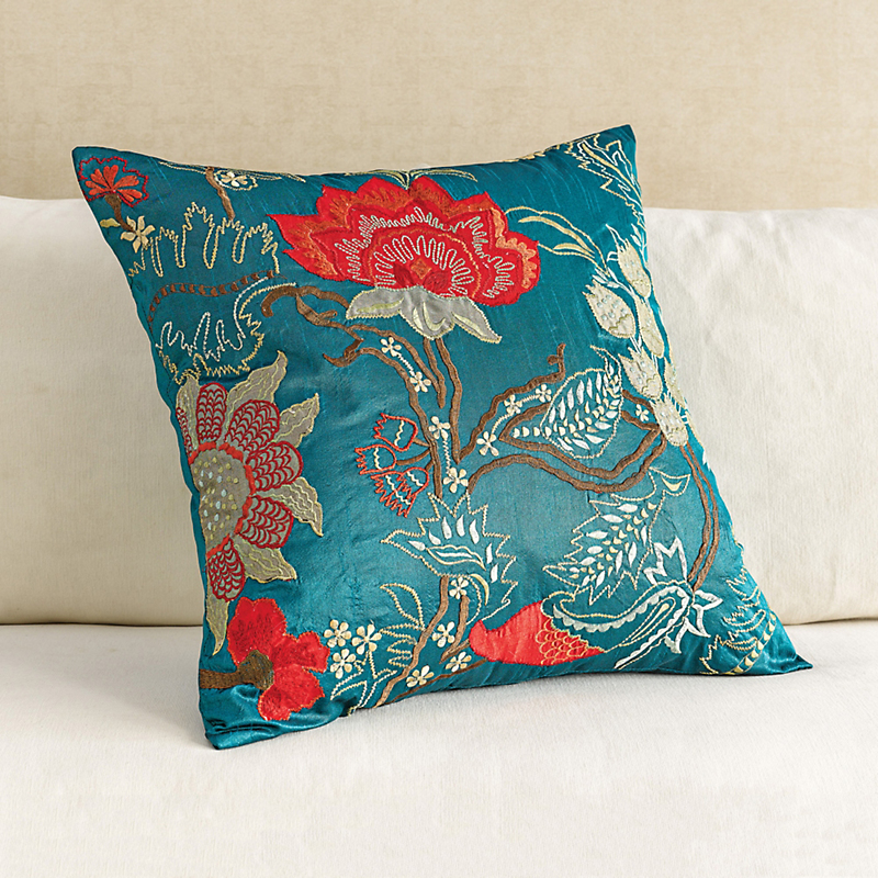 Mira Embroidered Pillow