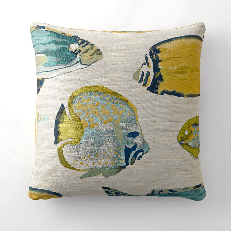 Oceana School Of Fish Pillow