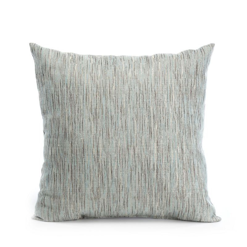 Oceana Blue Striations Pillow