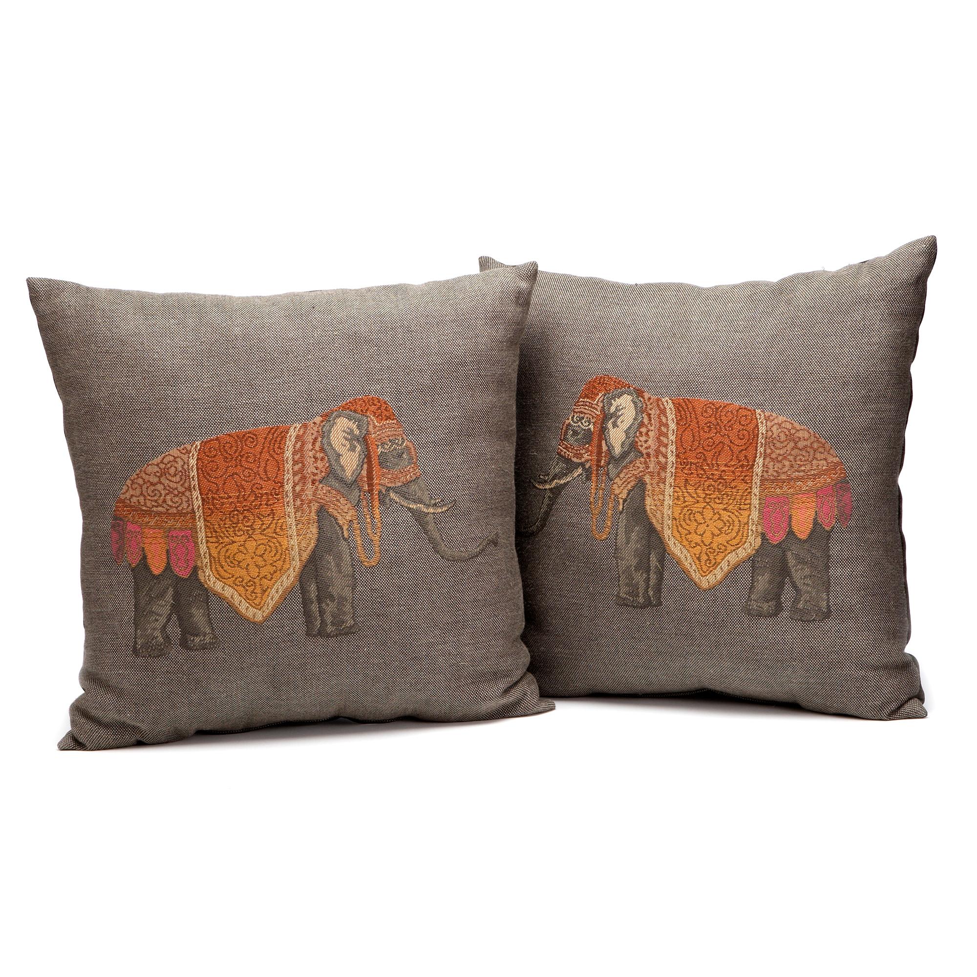 Throw Pillows Home : Raj Elephant Pillows Gump s