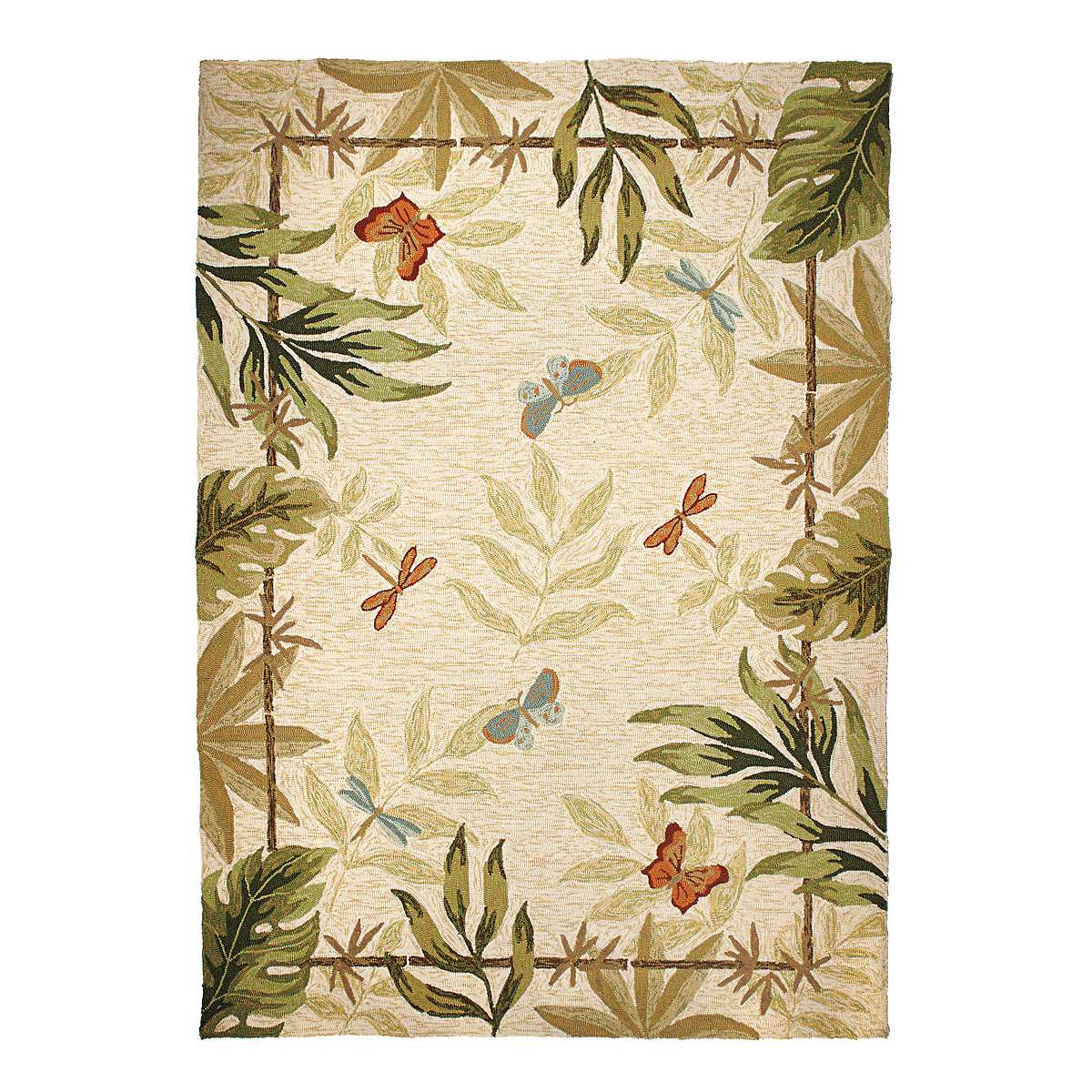 Tropical Indoor / Outdoor Rug