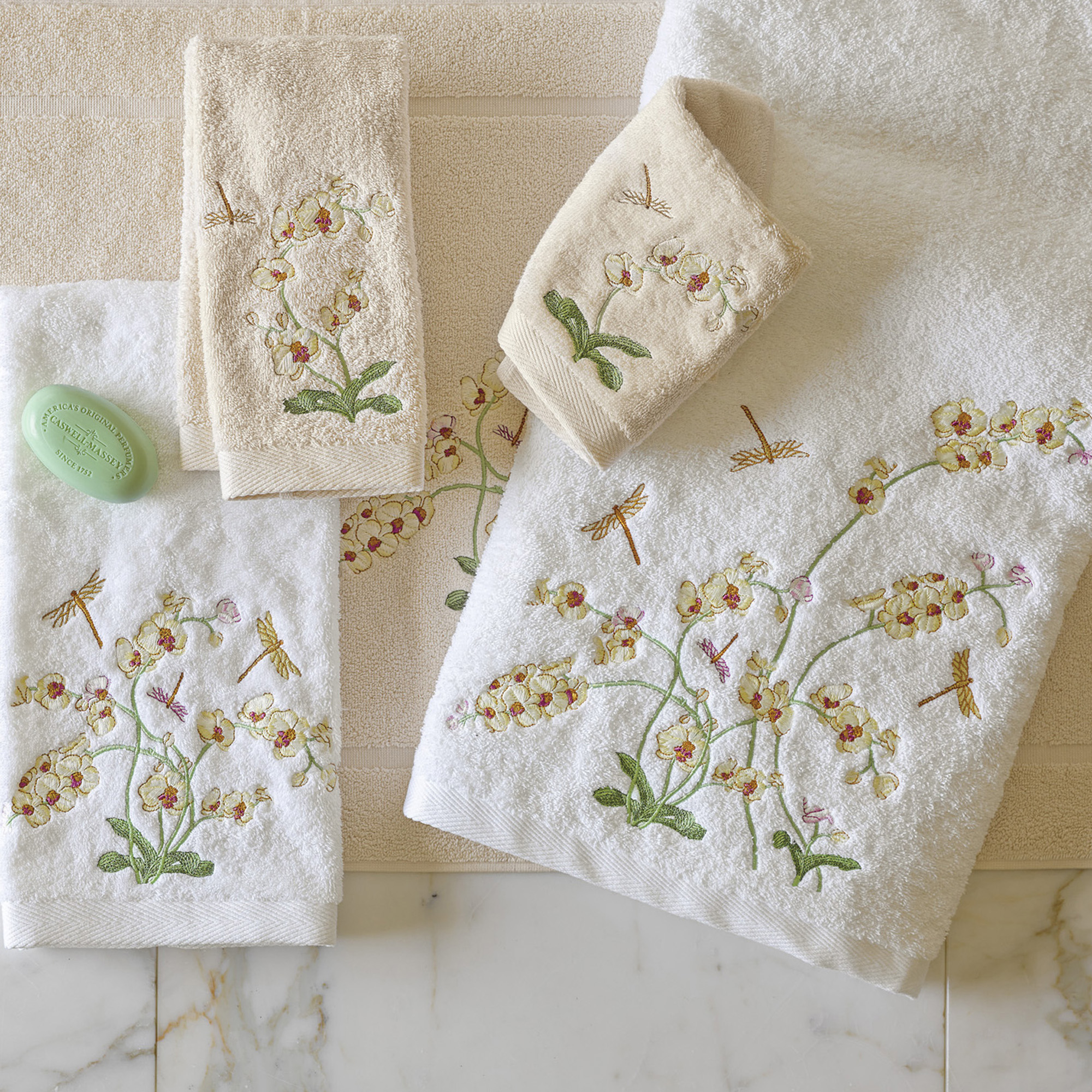 Orchid Towels