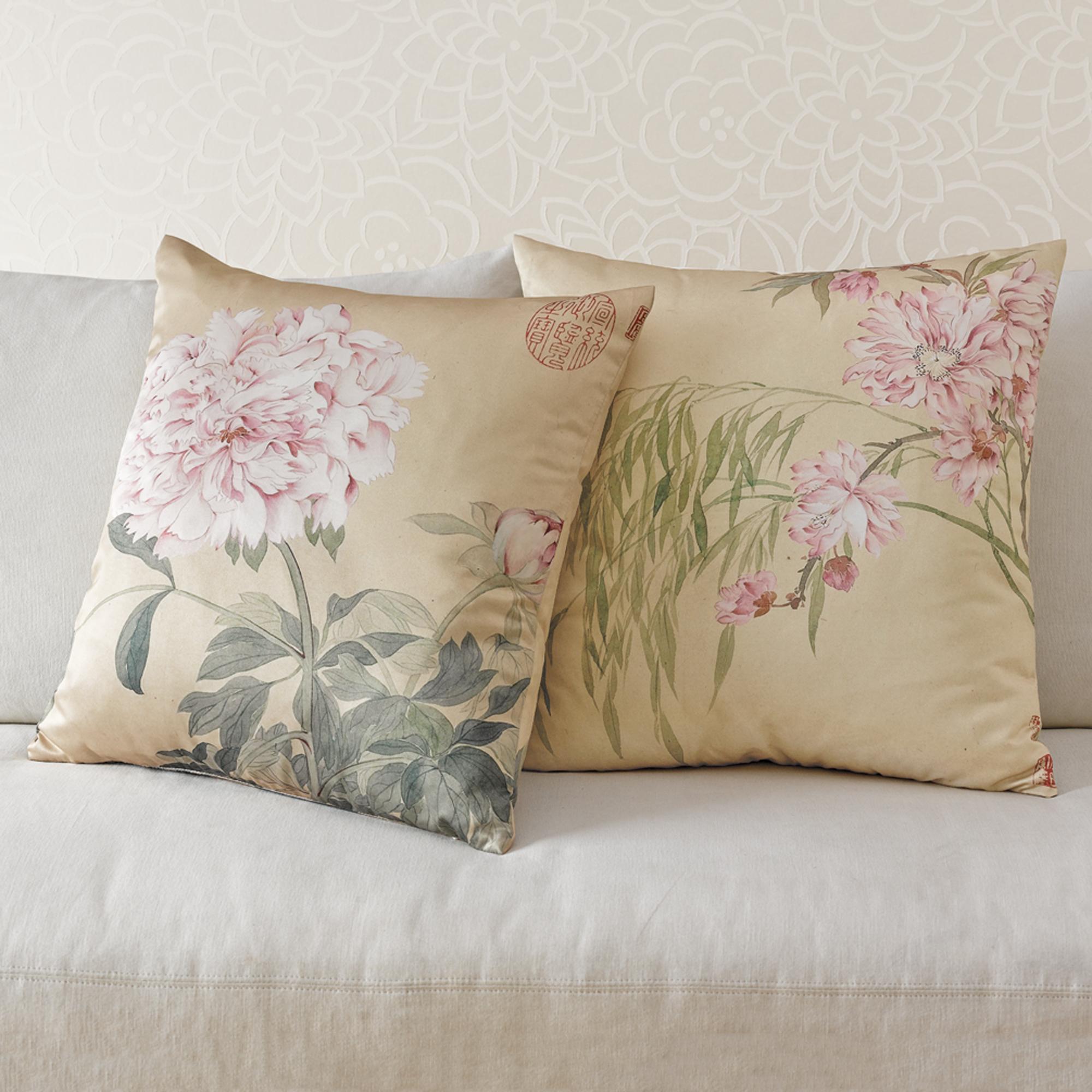 Throw Pillows Home : Imperial Garden Pillows Gump s