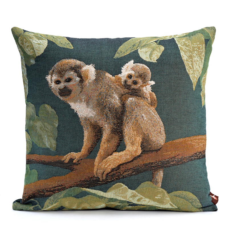 Forest Canopy Monkey Pillow