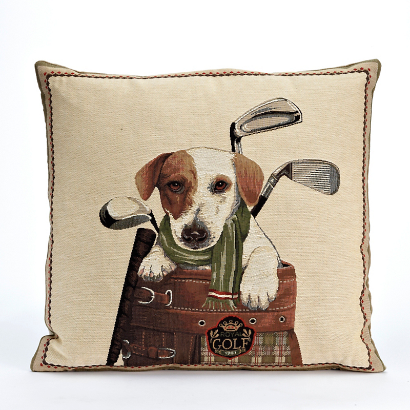 Golf Terrier Pillow