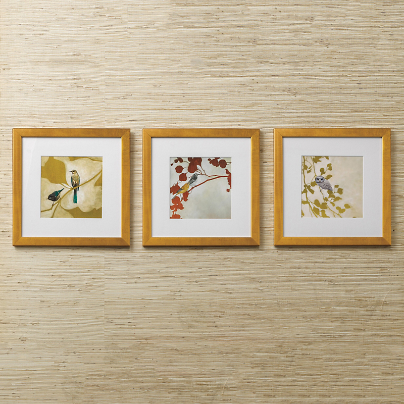 Bird Prints Trio