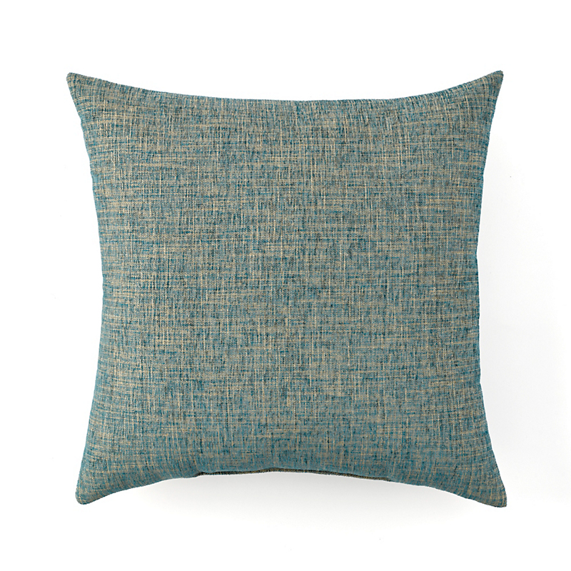 Blue Crossweave Pillow