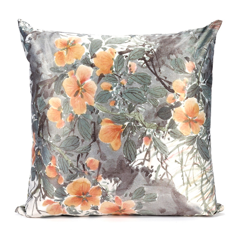 Orange Blossoms Pillow
