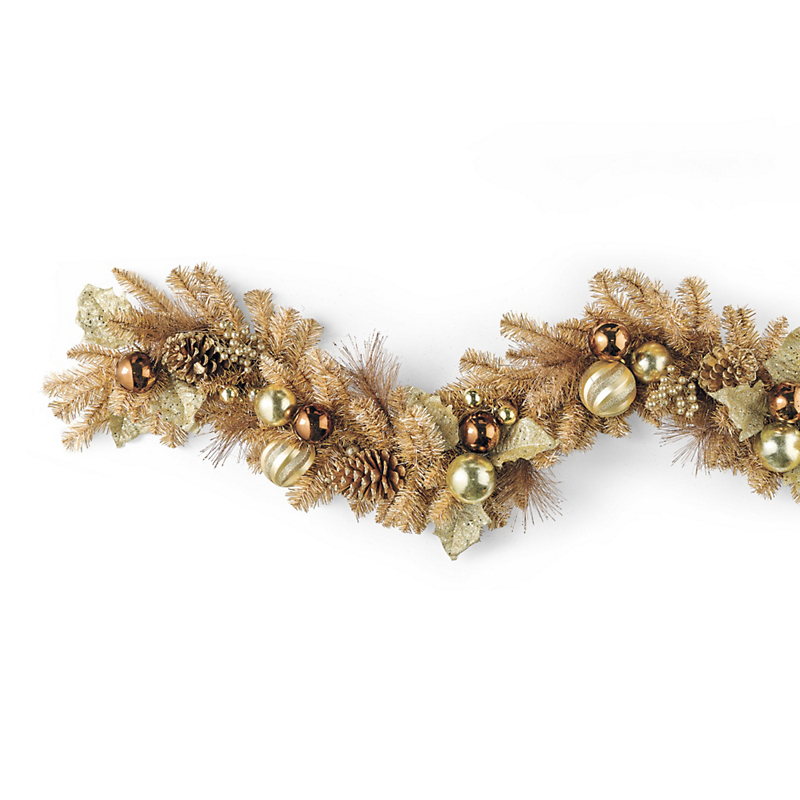 Charleston Floral Christmas Garland