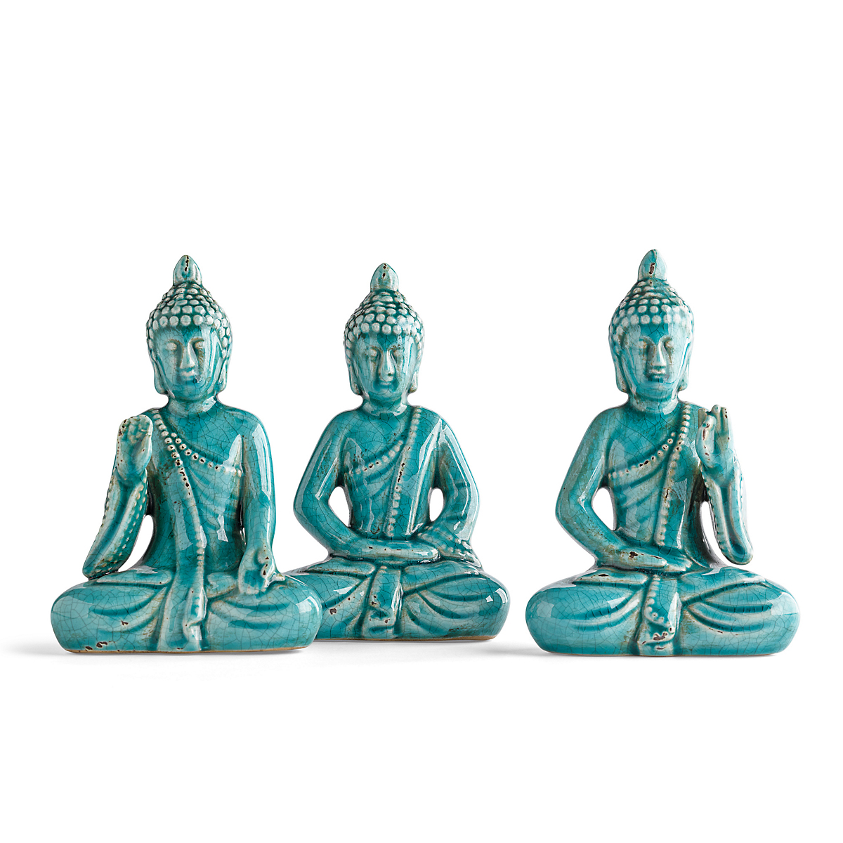 Mini Buddhas, Set Of 3