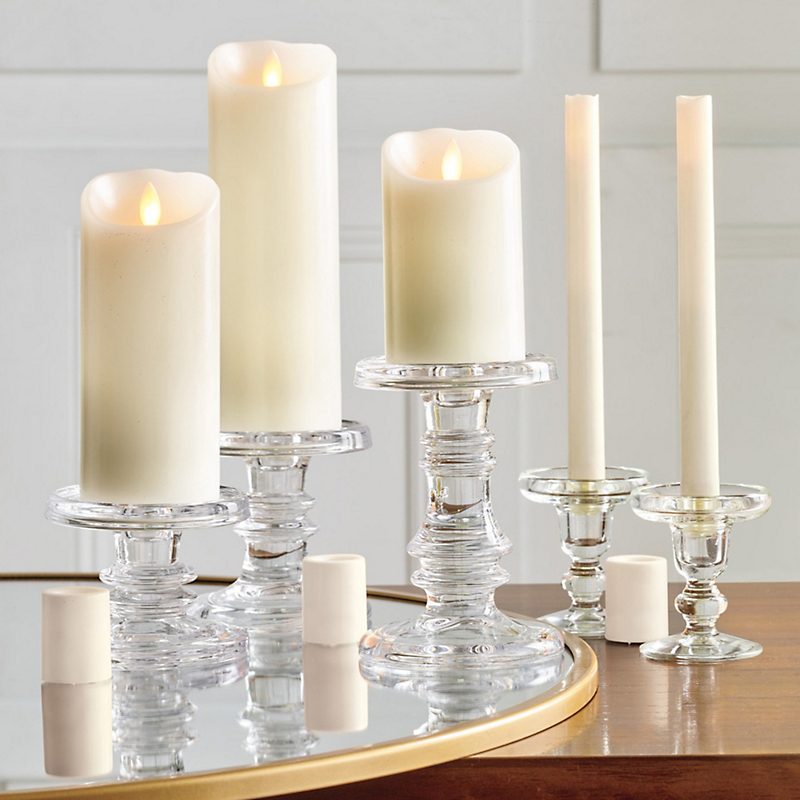 Montecito Flameless Pillar Candles