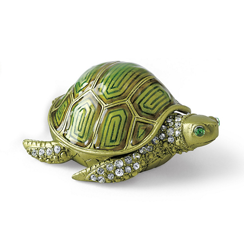 Enamel Turtle Box
