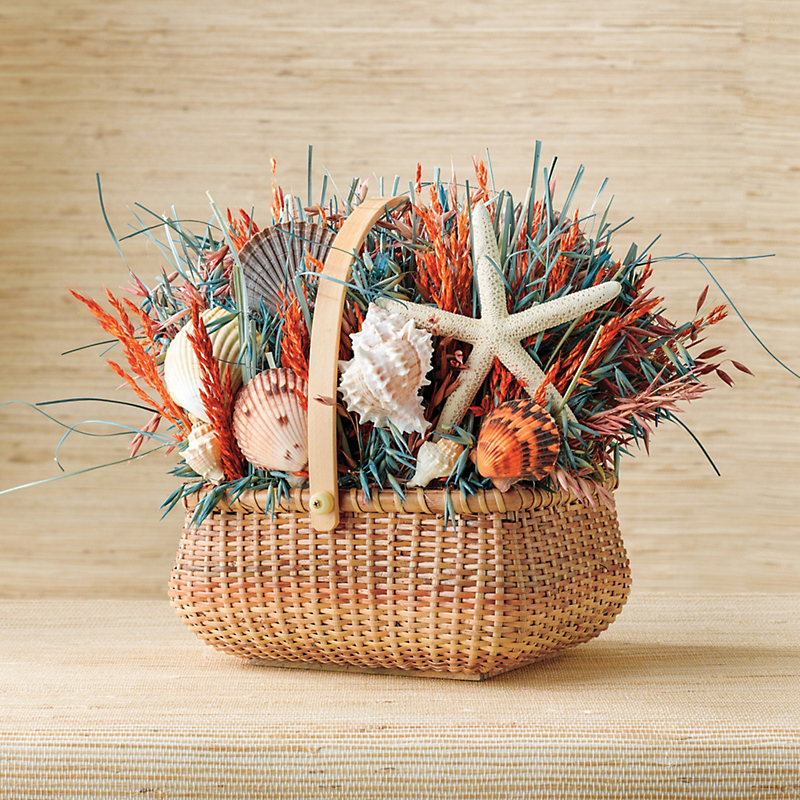 Preserved Surfside Basket