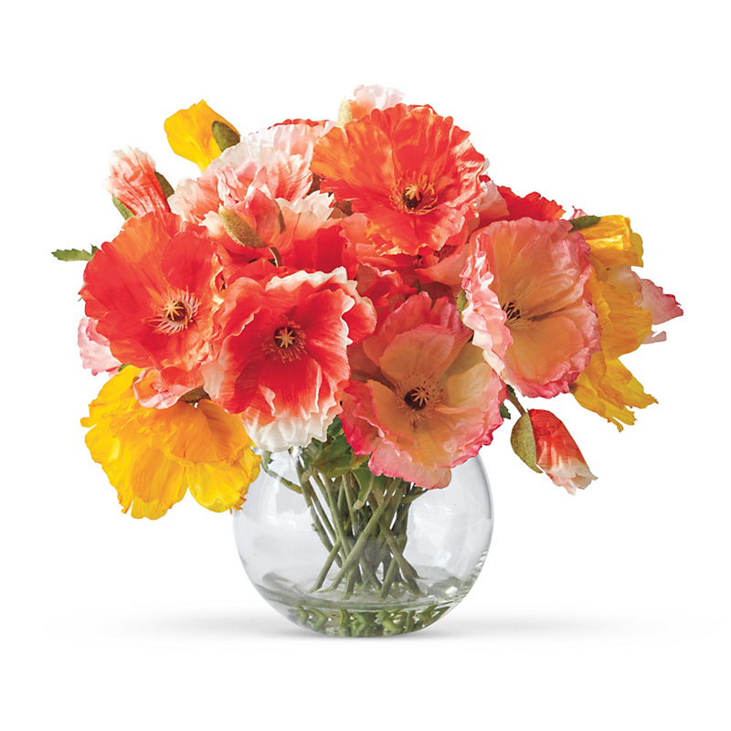 Icelandic Coral Poppies Bouquet