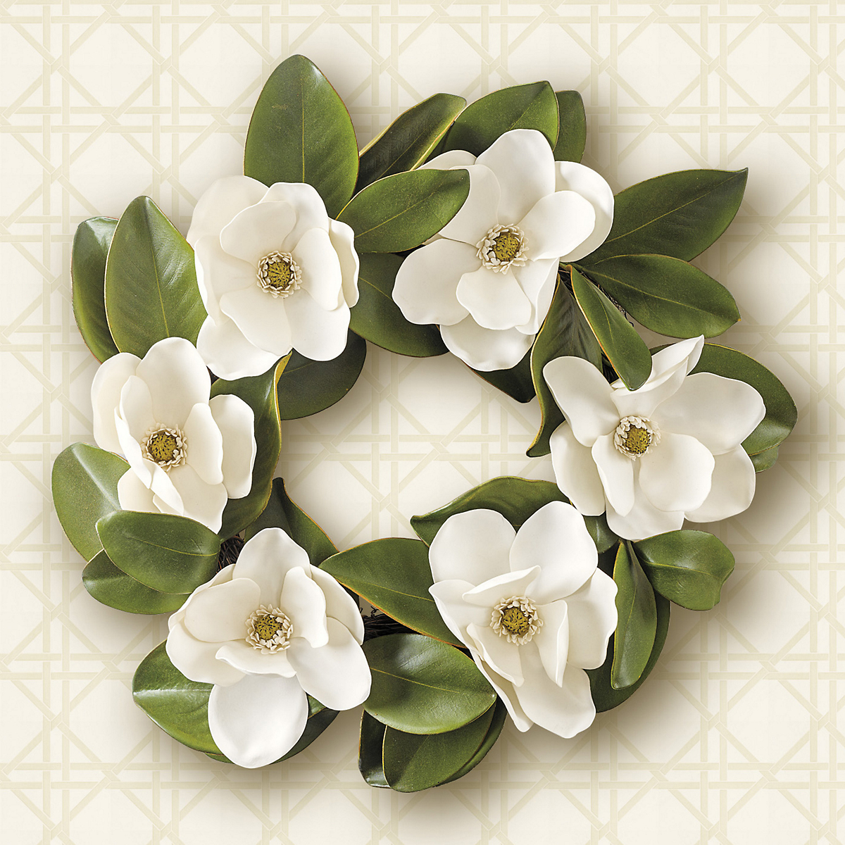 Lush Magnolia Wreath