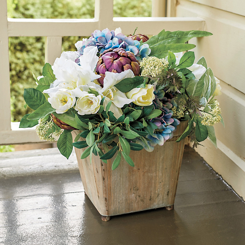Grand Outdoor Hydrangea Arrangement