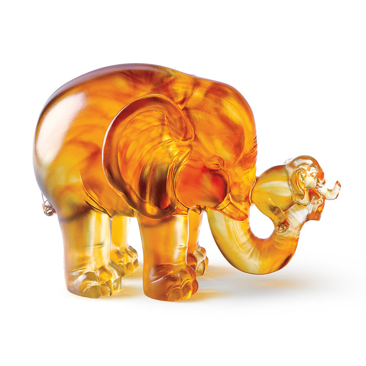 Liuli 'A Push Forward' Elephant
