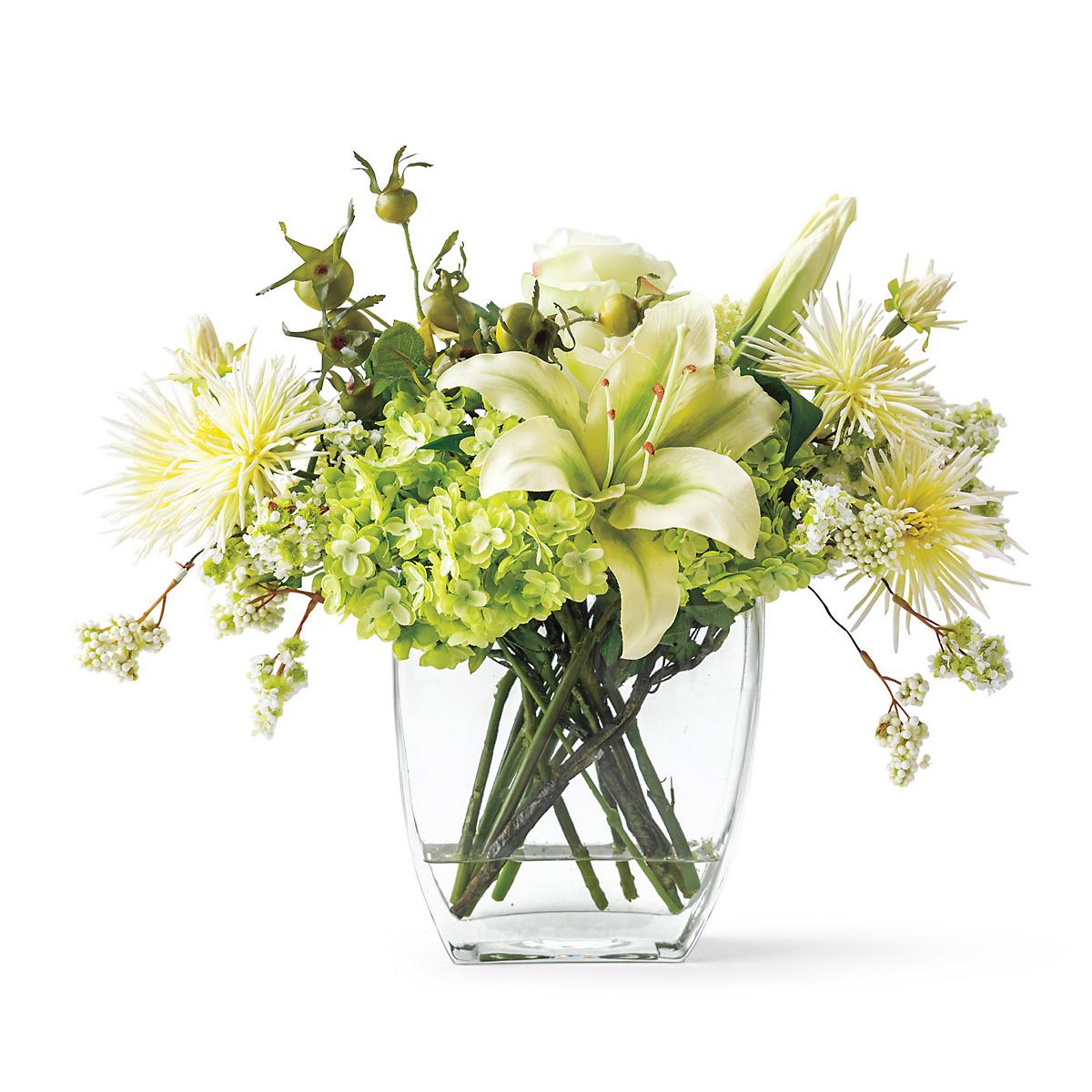 Hydrangea rose bouquet gump s