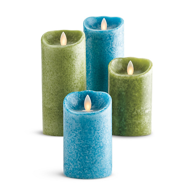 Del Mar Flameless Candles