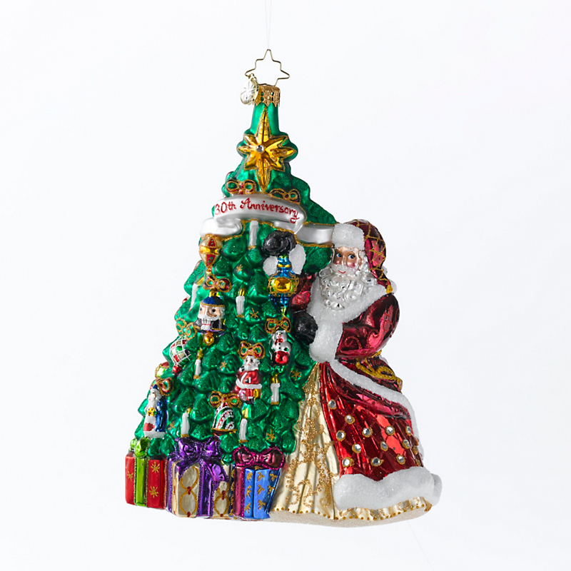 Christopher Radko 2015 Hanging With Joy Christmas Ornament