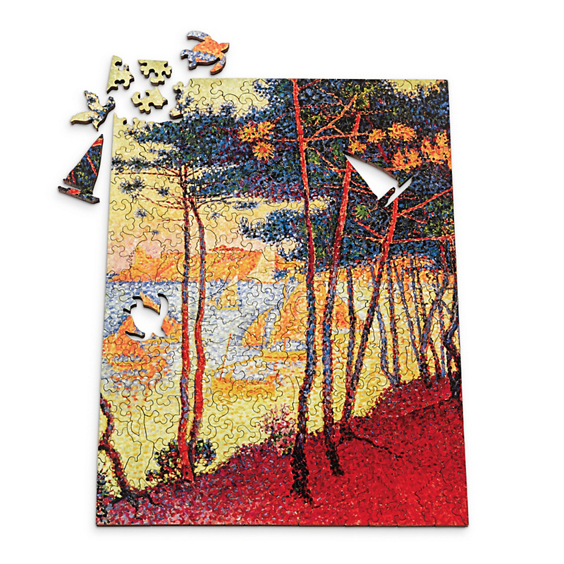 Sailing Boats & Pine Trees Puzzle